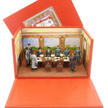 diorama l'Armistice de Rethondes (9 p. + décors + coffret diorama)