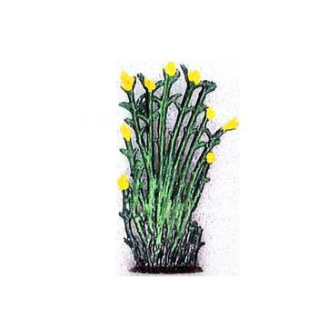Petit roseaux fleurs jaunes (h. 4 cm)