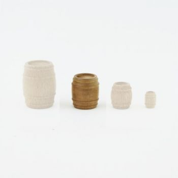 Grand tonneau (bois) 20 mm x 22 mm
