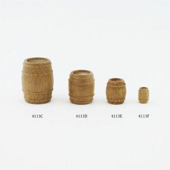 Petit tonneau (bois) 8 mm x 10 mm