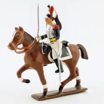 cavalier des cuirassiers à cheval (1809)