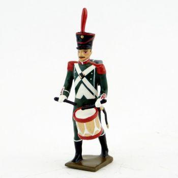 tambour des voltigeurs du régiment de La Tour d'Auvergne (1806)