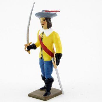 officier des mousquetaires louis xiii