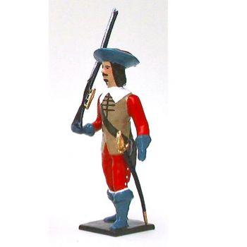 Garde de Richelieu, avec fusil