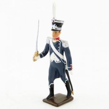 officier du 25e régiment d'Infanterie légère