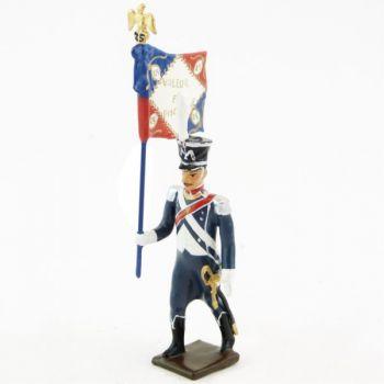 porte-drapeau du 25e régiment d'Infanterie légère