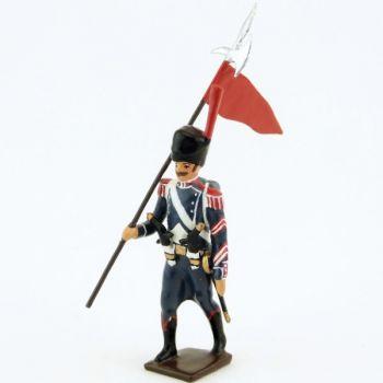 2e porte-aigle du 25e régiment d'Infanterie légère