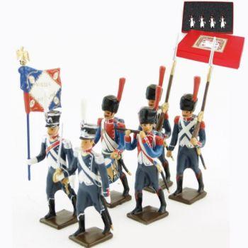 25e régiment d'Infanterie légère, coffret de 6 figurines