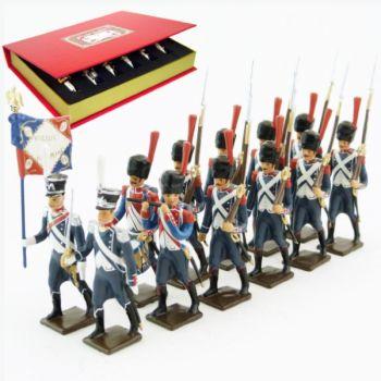 25e régiment d'Infanterie légère, coffret de 12 figurines