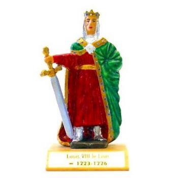 Louis VIII le Lion sur socle bois
