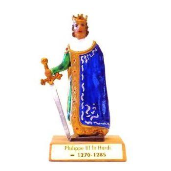 Philippe III le Hardi sur socle bois