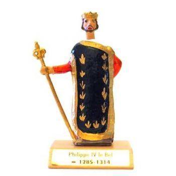 Philippe IV le Bel sur socle bois
