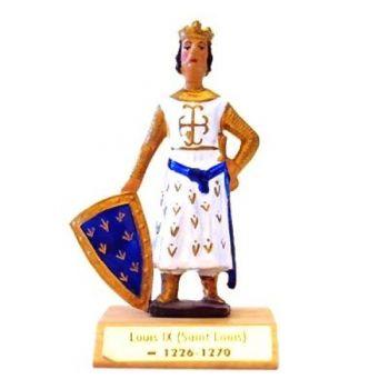 Louis IX sur socle bois