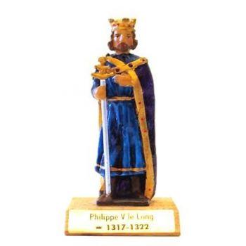 Philippe V le Long sur socle bois