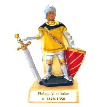 Philippe VI de Valois sur socle bois