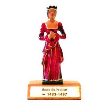 Anne de Beaujeu sur socle bois