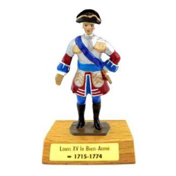 Louis XV le Bien-Aimé sur socle bois
