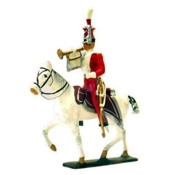 trompette des Chevau-léger lanciers de Berg