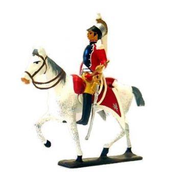 trompette du 13e Régiment de Cuirassiers en Espagne