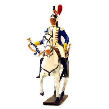 trompette en grande tenue du 14e Régiment de Cuirassiers