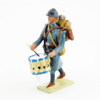 tambour de l'Infanterie de ligne Bleu Horizon (collection LG)