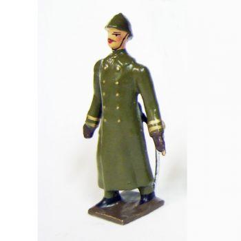 officier de l'infanterie de ligne en capote kaki (1921-1945)