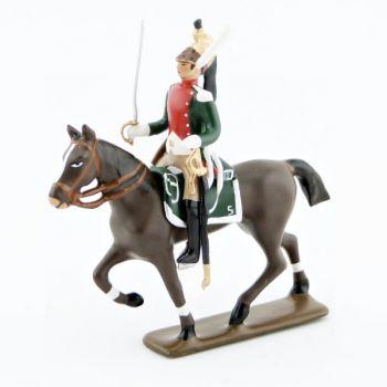 cavalier du 5e régiment de dragons