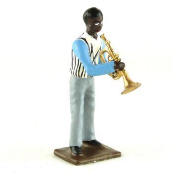 trompettiste (diorama le Jazz) (JZ03)