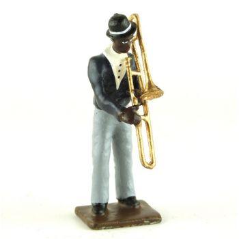 joueur de trombone (diorama le Jazz) (JZ06)