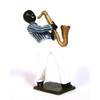 saxophoniste (diorama le Jazz) (JZ07)