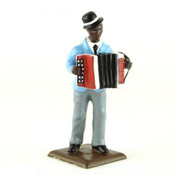 accordéoniste (diorama le Jazz) (JZ09)