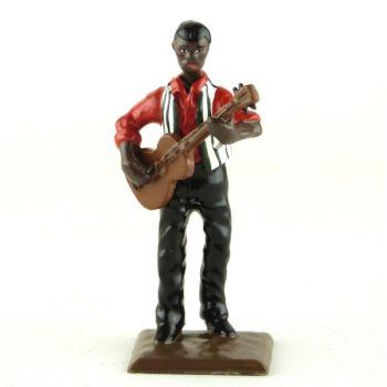 guitariste (diorama le Jazz) (JZ11)