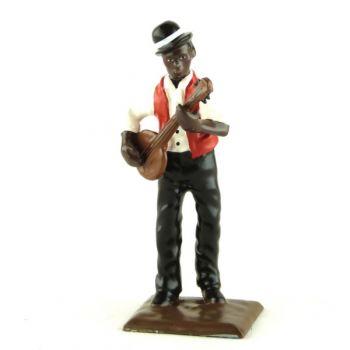 joueur de banjo (diorama le Jazz) (JZ05)