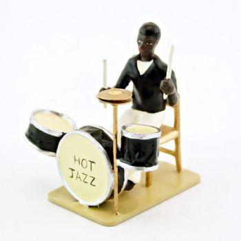 batteur et batterie Hot Jazz (diorama le Jazz) (JZ01)