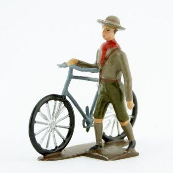 Scout à vélo
