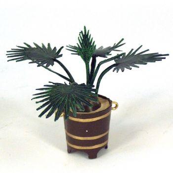 Petit palmier en pot en volume
