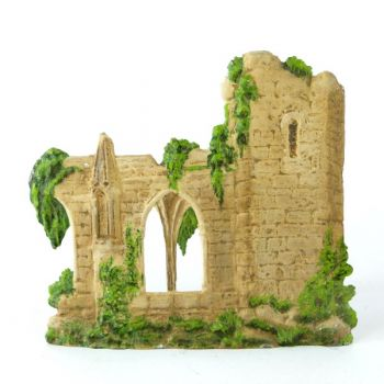 cathédrale en ruines