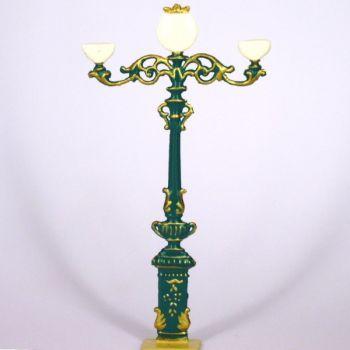 lampadaire à 3 branches