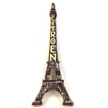 1/2 tour Eiffel avec lettres Citroën (h. 9 cm)