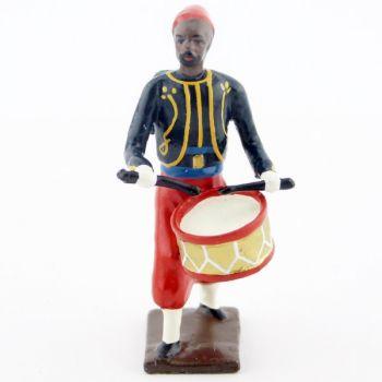 tambour du 3e rgt de zouaves (tombo jonquille) avec chechia