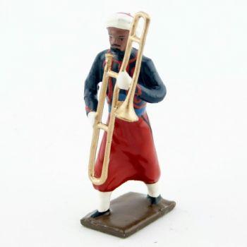 trombone à coulisse de la musique du 1er rgt de zouaves