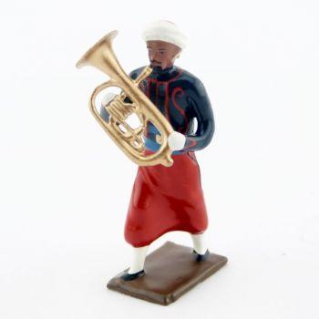 Tuba de la musique du 1er rgt de zouaves