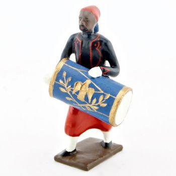 caisse claire de la musique de zouaves avec chéchias