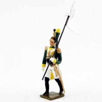 3e porte-aigle des dragons de la garde (dragons jaunes) (1812)