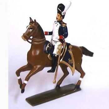 colonel à cheval des chasseurs à pied de la Garde (1806)