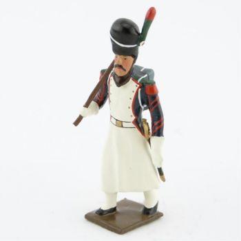sapeur des chasseurs à pied de la Garde (1806) avec hache
