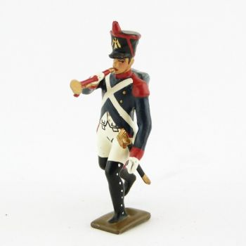 clairon de l'infanterie de ligne à l'assaut
