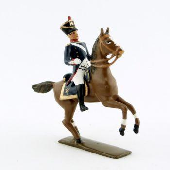officier à cheval de l'infanterie de ligne (1812)