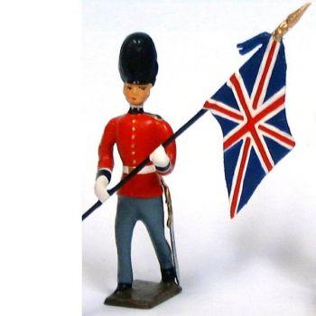 Drapeau des Gardes de la Reine d'Angleterre (Welsh Guards)