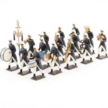 chef de la musique de la légion bleue en capote